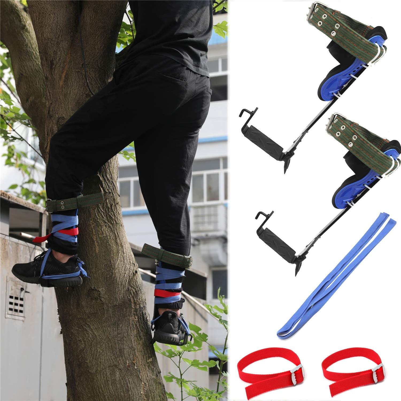 HongK- Tree Climbing 5 ☆ popular Spike Set Direct sale of manufacturer Ro Lanyard Safety Adjustable Belt