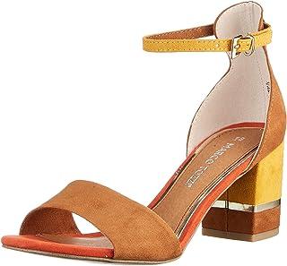 MARCO TOZZI 2-2-28303-26 Sandale, Sandalia con taln Mujer