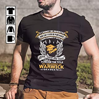 I Own It Forever The Title The University Of Warwick Graduate T-Shirt, Long Sleeve, Sweatshirt, Hoodie for men and women