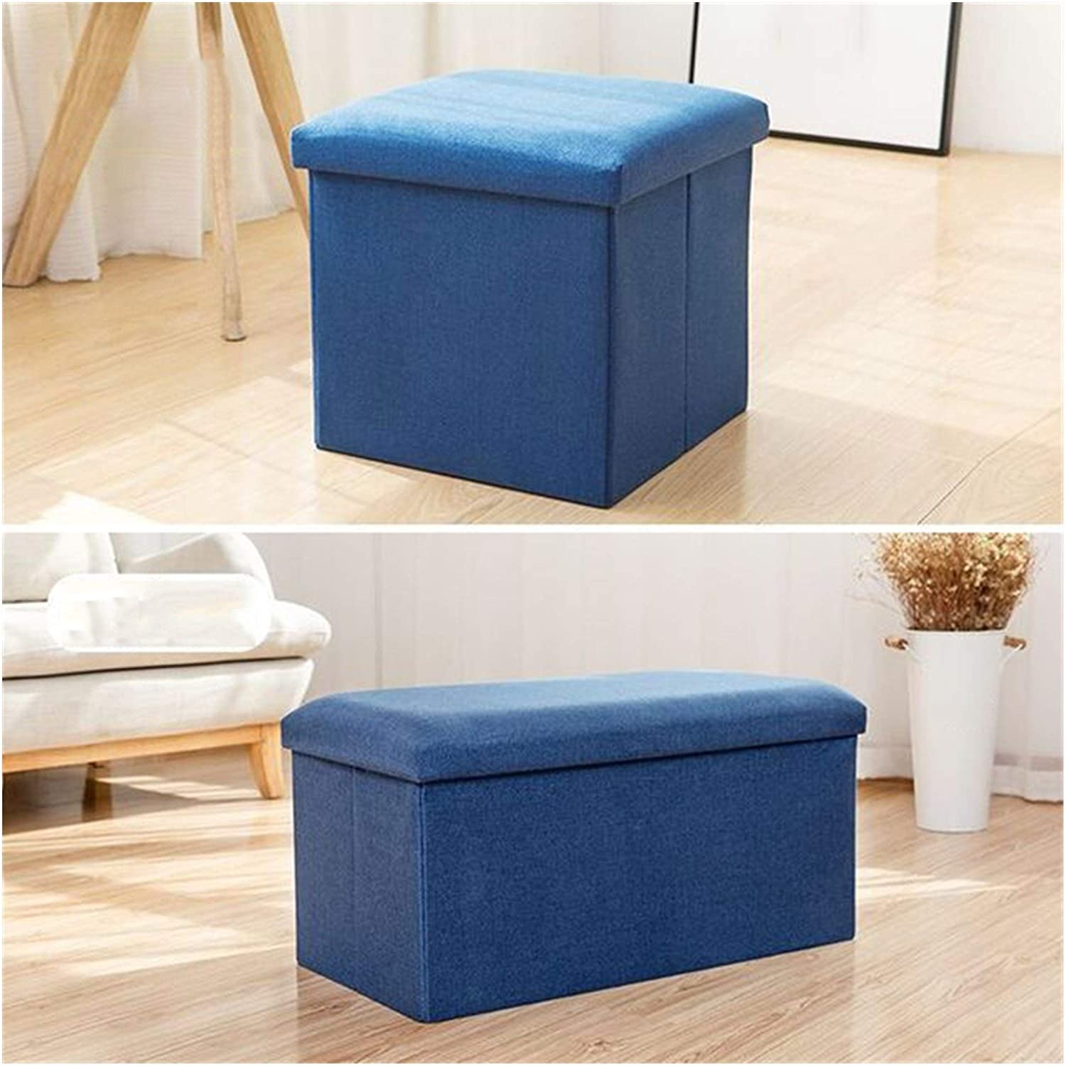 security ACD Max 59% OFF Folding Storage Stool Foldable w Portable Footstool