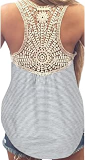 Summer Vest 2019, Liraly Ladies Lace Top Short Sleeve Blouse Casual Tank Tops T-Shirt
