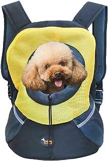 Ondoing Pet Backpack Carrier, Dog Puppy Cat Kitten Front Carrier, Pet Travel Bag, Hands Free Pet Carrier for Traveling Hik...