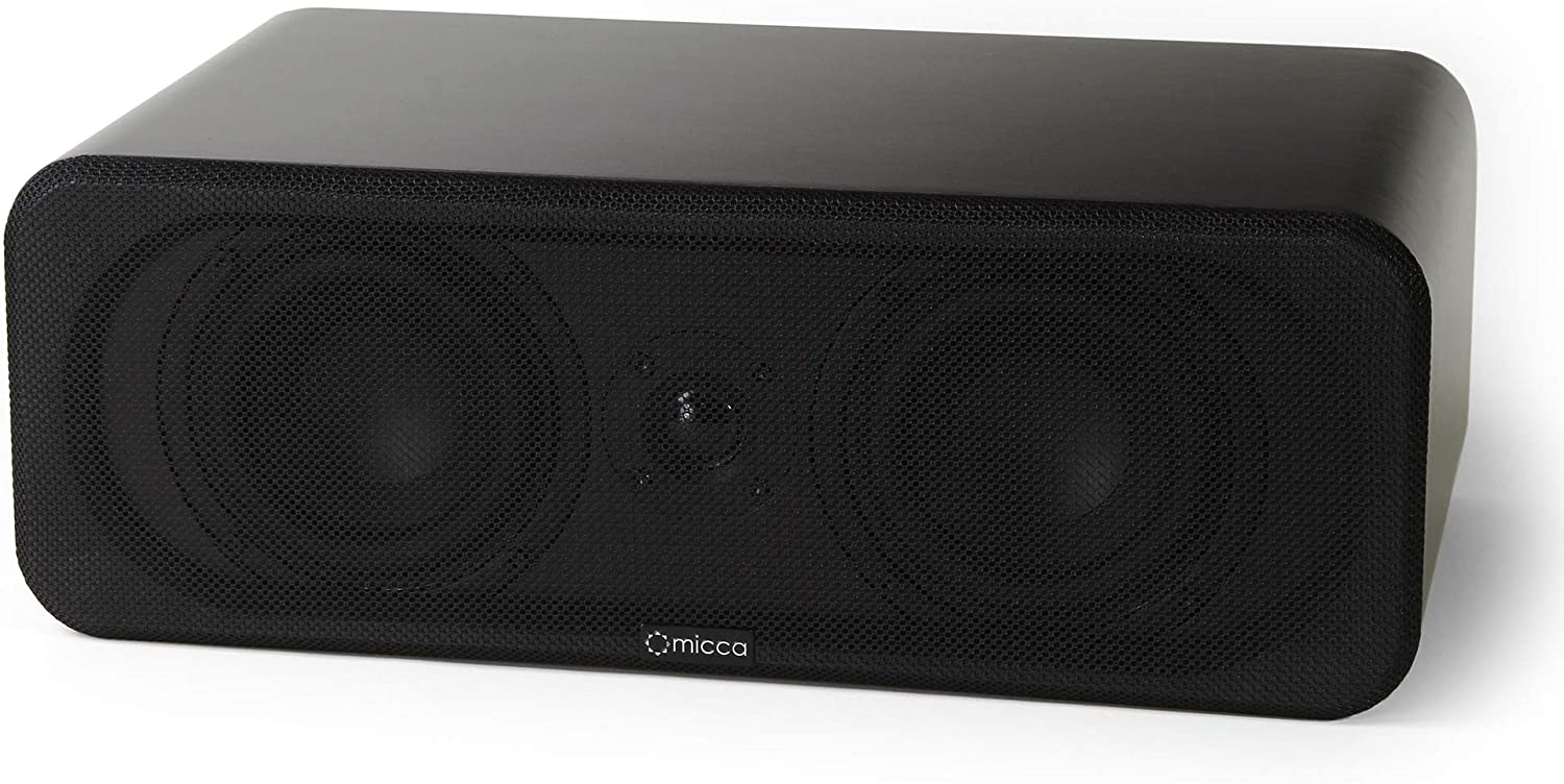 Micca RB42-C Center Sales for sale Channel Bookshelf with 4-Inch Speaker Ranking TOP2 Woofer