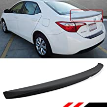 Cuztom Tuning Fits for 2014-2019 Toyota Corolla JDM OE Sport Style ABS Rear Trunk Lid Spoiler Wing