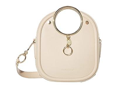 See by Chloe Mara Shoulder Bag (Cement Beige 1) Handbags