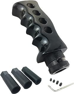 Arenbel Cool Gear Shift Knob Stick Shifter Handle fit Most Manual Vehicle Black