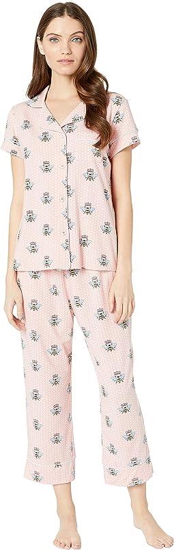 Queen Bee Capris Pajama Set