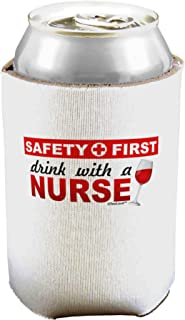 TooLoud Drink with A Nurse Can/Bottle Insulator Cooler - 2 Pack