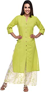 Pistaa's Women Cotton Flex Princes Cut Salwar suits Set