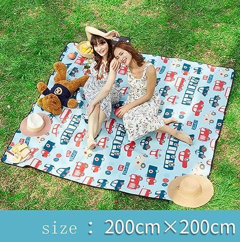 WSQ Tapis de pique-nique pique-nique en plein air tapis de gazon tapis de champ sauvage tapis étanche à l'humidité portable épaississeHommest isolation prougeection de l'environneHommest portabl