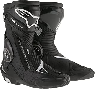 Alpinestars Mens SMX Plus Vented Boot (Black, EU 45)
