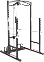 Marcy Home Gym Cage System Workout Station for Weightlifting, Bodybuilding and Strength..