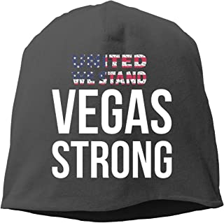 United We Stand Vegas Strong Unisex Knitted Hat Beanie Hat Warm Hats Skull Cap