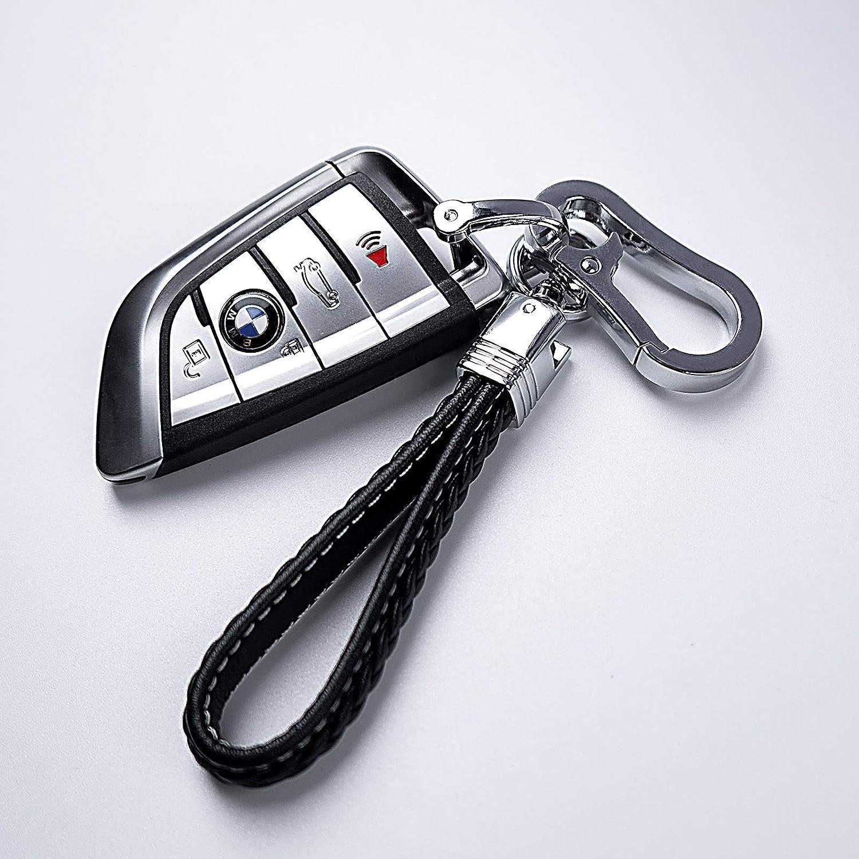 Car Key Accessories for Man and Woman-Purple AIHOK Car Keychain Leather Key Chain Lanyard for Jeep BMW Porsche Honda VW Toyota Mercedes Benz Cadillac Dodge Ford Subaru Lexus Audi Land Rover