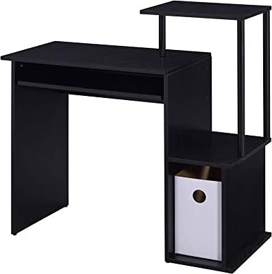 Acme Furniture Lyphre Computer Desk, Black