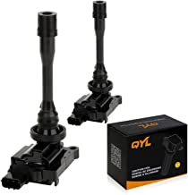 2Pcs Ignition Coil Pack Replacement for Dodge Stratus Mitsubishi Eclipse Galant Lancer Mirage Outlander 4L C1257 UF295 UF141