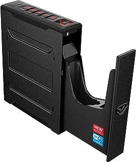 Vaultek Wi-Fi Slider Series Rugged Smart Handgun Safe with Alerts to Smartphone Quick Auto-Open Sliding Door Pistol Safe with Rechargeable Li-ion Battery