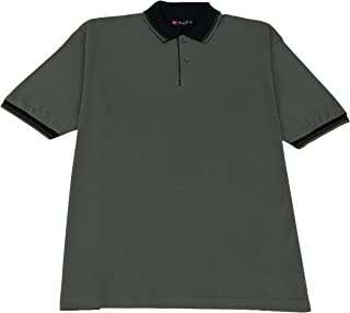 Mens Polo T Shirts Short Sleeve Jumbo Fit,Collar T Shirt For Men