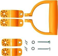 UPP D-handgreep universele 360° rotatie reserve handgreep voor schep, hark, bezem, spade, hark enz.