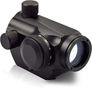 OTW Red Dot Sight,1x20mm/ 1x27mm 4 MOA Red Green Dot Sight Micro Rifle Scope
