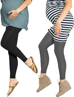 Preggers 2 件装 10-15mmhg 无脚孕妇压缩打底裤