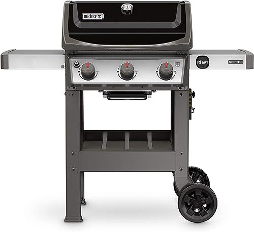 Weber-45010001-Spirit-II-E-310-3-Burner-Liquid-Propane-Grill,-Black