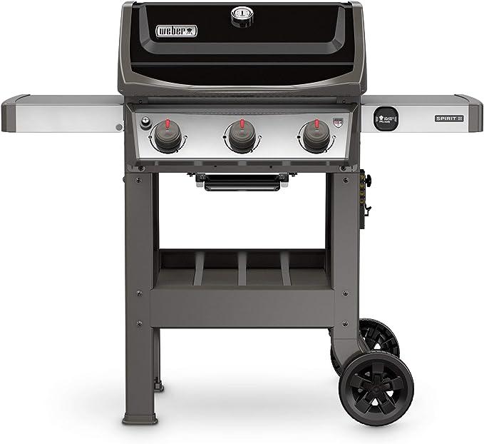 Weber 45010001 Spirit II E-310 3-Burner Liquid Propane Grill - The GS4 Grilling System