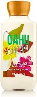 Bath and Body Works Oahu Coconut Sunset Shea and Vitamin E 8 Ounce Body Lotion