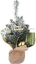 TOYANDONA Artificial Mini Christmas Tree Small Christmas Pine Tree Christmas Desktop Tree Christmas Tabletop Ornaments (Gr...