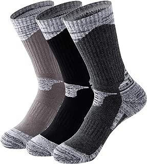 MAIBU 1 OR 3 Pairs Wicking Cushion Outdoor Hiking Walking Athletic Socks
