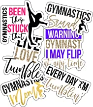 Gymnastics Stickers, Perfect Gymnastics Gifts for Girls, Anywhere You Need Gymnastics Decals, Laptop Stickers, Water Bottl...