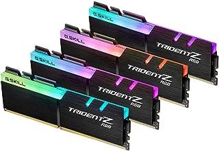 G.SKILL 32GB (4 x 8GB) TridentZ RGB سلسلة DDR4 PC4-28800 3600 ميجاهرتز 288-Pin نموذج ذاكرة سطح المكتب F4-3600C16Q-32GTZRC