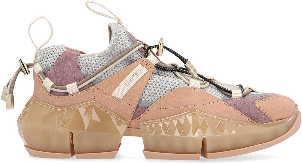 Jimmy choo luxury fashion, sneakers per donna,in vera pelle,taglia 40 eu IAMONDTRAILFEHLWPORCEL