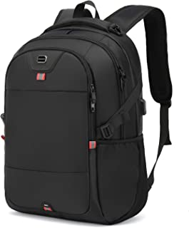 Laptop Backpack 17 Inch Water Resistant Backpacks Durable College Travel Daypack Anti Theft with USB Charging Port Best Gi...