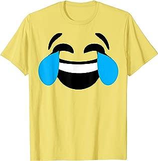 tears of joy emoji costume