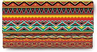 ShopMantra Multicolored Canvas women's Clutch (LW00000325)