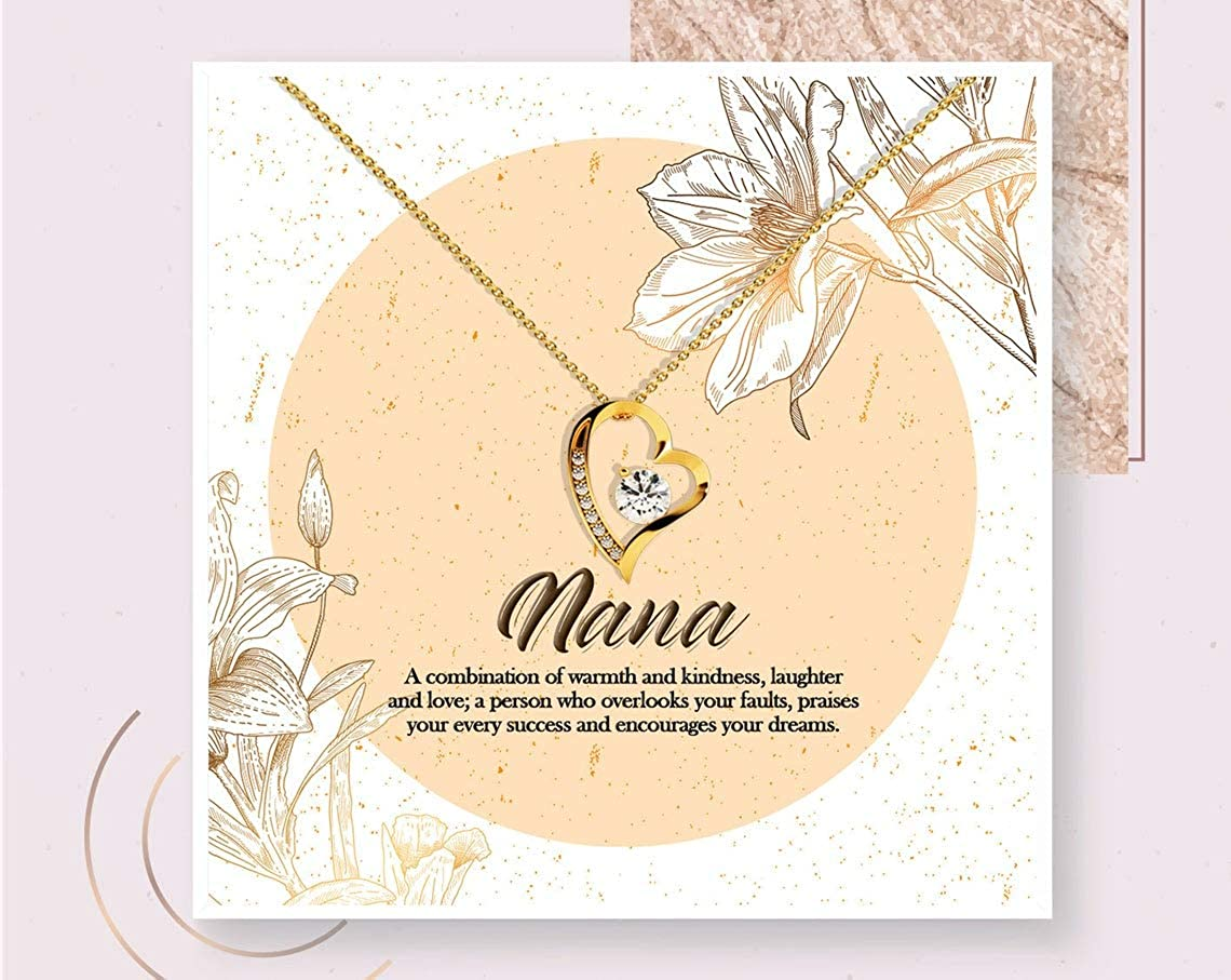 iWow Inspirational Nana shop Necklace New mail order Gift Jewelry Personalized