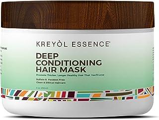 Deep Conditioner Mask for Hair Repair by KREYÒL ESSENCE, 8 oz