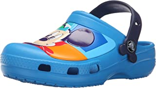 Crocs 卡骆驰儿童 CC 米奇色块洞鞋 K-K