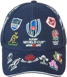 RWC2019 ラグビー ワールドカップ 2019 公式ライセンス キャップ帽子 カンタベリー ネイビー オールブラックス 応援旗 特大@ MC97