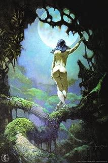 Moon Rapture by Frank Frazetta Cool Wall Decor Art Print Poster 24x36