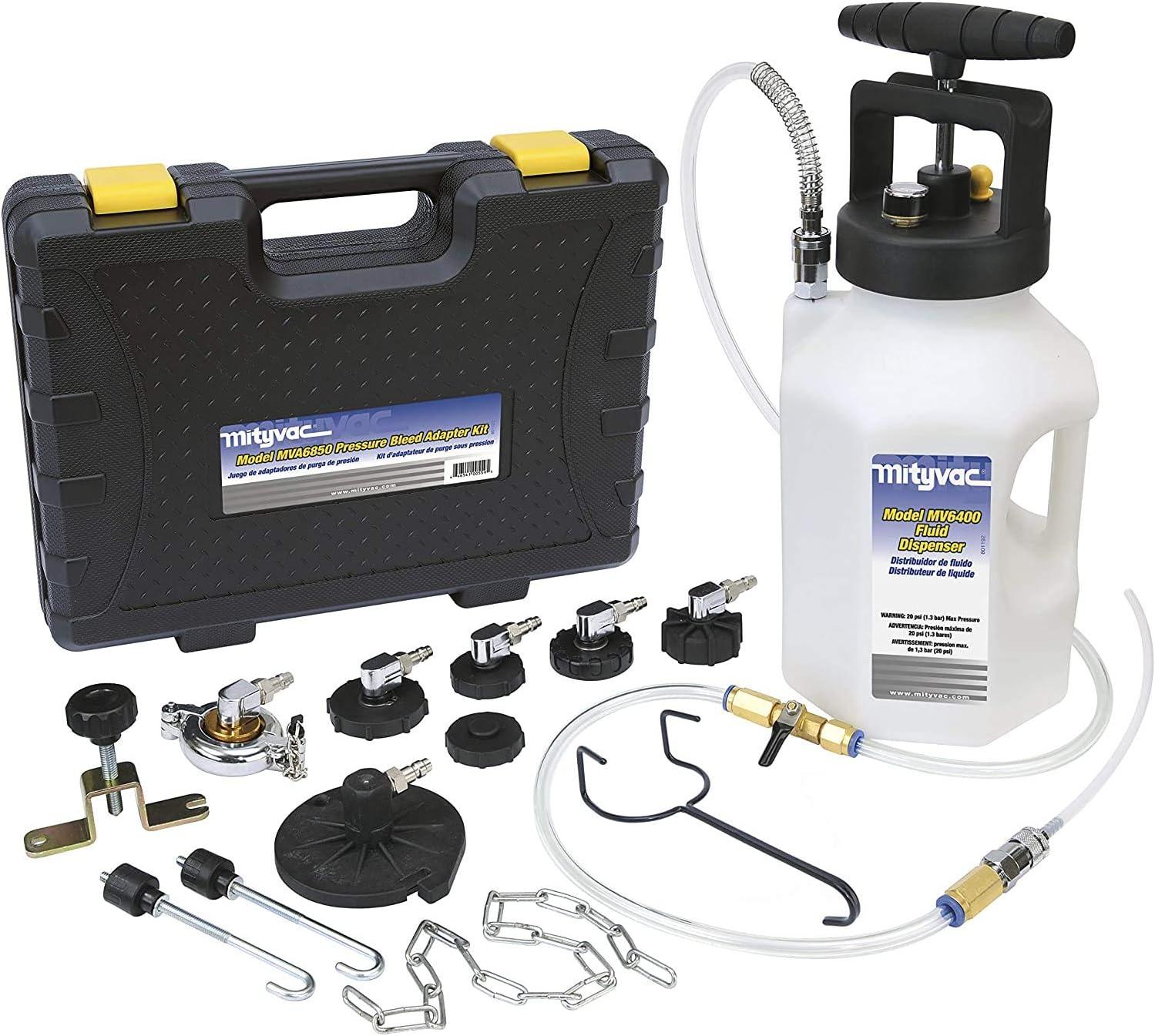 Mityvac MV6840 Hydraulic Brake and Clutch Pressure Bleeding System