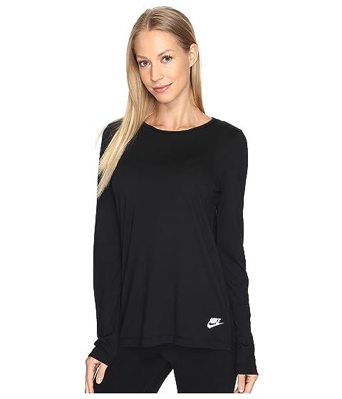 Color. Black/Black/White. Women's size