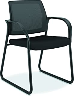 HON Ignition Sled Base Chair, Black CU10