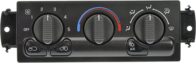 Dorman 599-266 Front Remanufactured Climate Control Module for Select Cadillac/Chevrolet/GMC Models