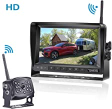 Amtifo HD 960P Digital Wireless Backup Camera with 7 Inch Monitor for..