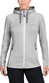 VAUDE Women's Civetta Jacket - Warm Fleece Jacket for Hiking and Travel - Easy-Care, Fast-Drying, Stretchy
