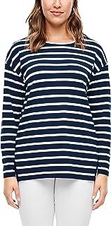 TRIANGLE 301.10.003.14.140.2034870 Maglia di Tuta, Navy Stripes, 3XL Donna