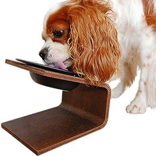 iDog Living Keatキート Lサイズ フードボウル別売 ホワイト 犬 食器台