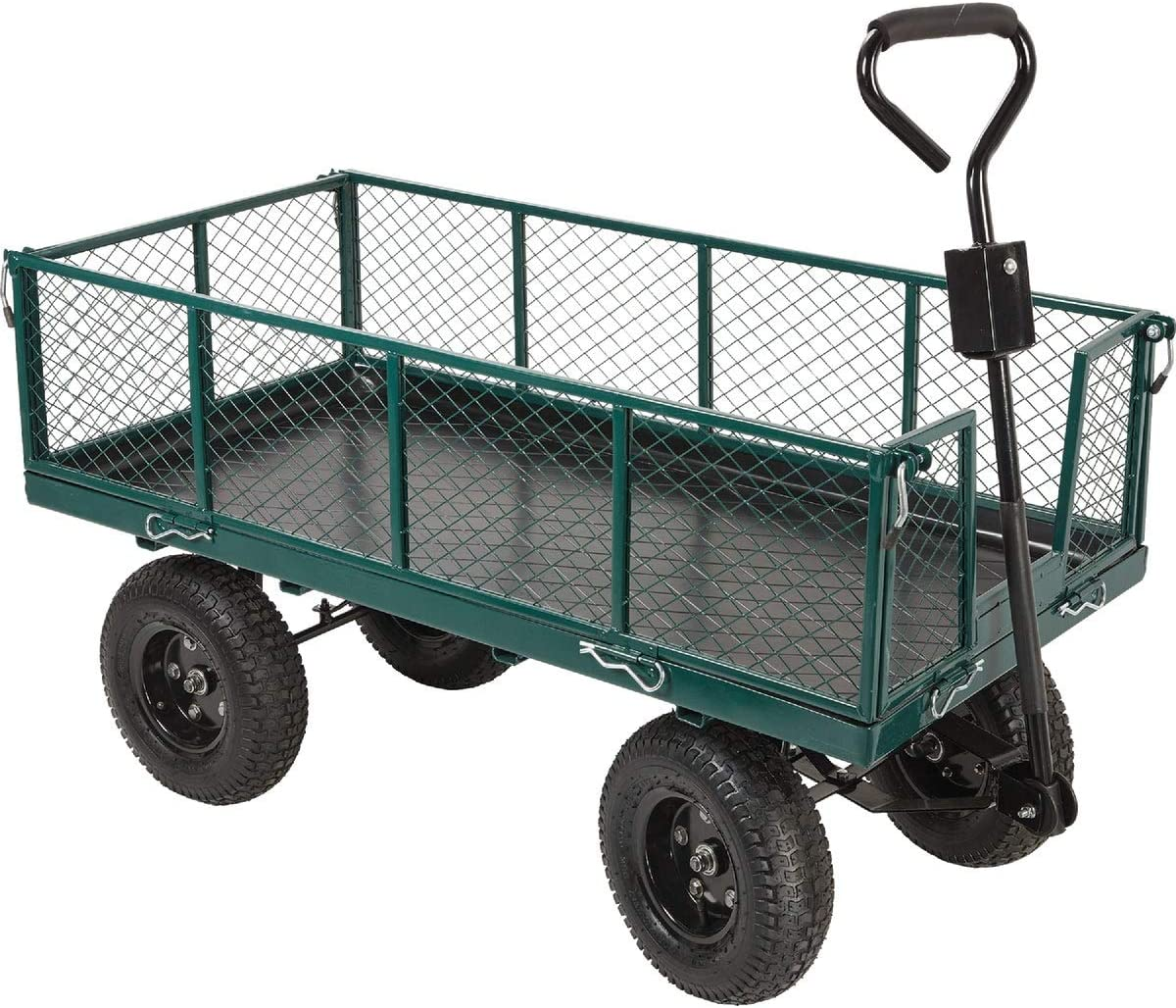 5% OFF Do it Best GS TC4205C Steel Cart Max 54% OFF with Collapsible Yard Sides